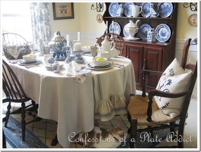 CONFESSIONS OF A PLATE ADDICT How to Create a French Country Dining Room on a Budget