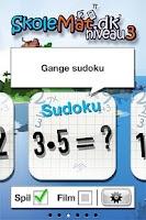 Screenshot of SkoleMat Level 3 gratis