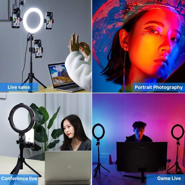 VIJIM K9 RGB - Đèn LED 10 Màu