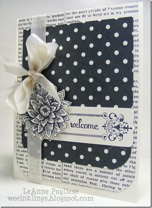 LeAnne Pugliese WeeInklings Creative Elements Stampin Up