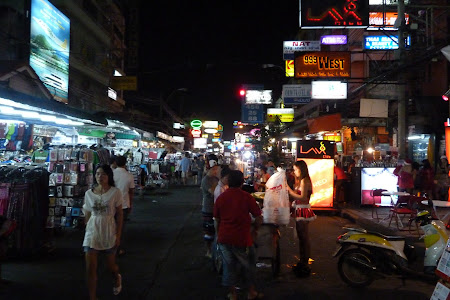 Khao San Bangkok by night