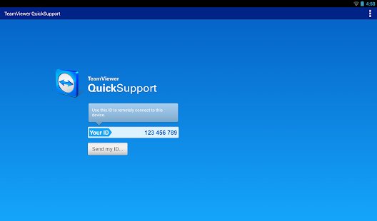 TeamViewer QuickSupport Screenshot 10