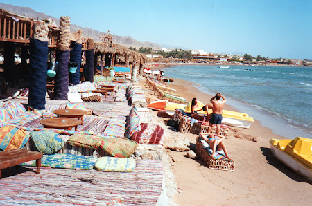 Litoral Egipt: plaja Nuweiba Sinai
