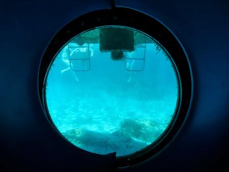 La mare in Cipru: Submarin