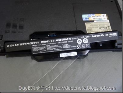 CJSCOPE QX-350HD i7 獨顯筆電-電池
