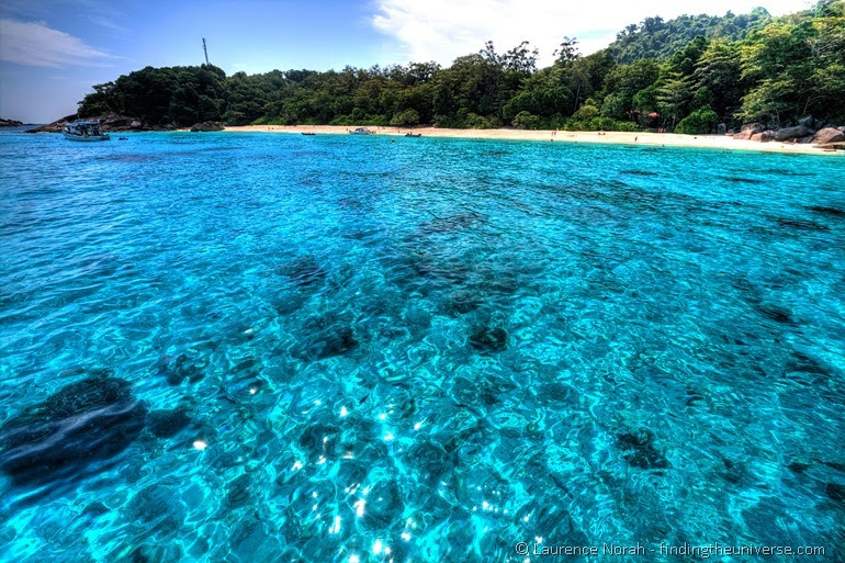 Similan islands water