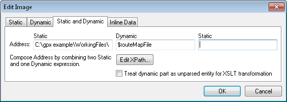 Assigning a parameter to an image file name