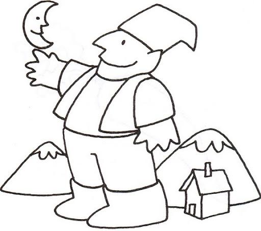 Niño Gigante Dibujalia Dibujos Para Colorear