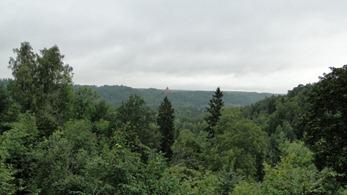 Castelo de Turaida visto de Sigulda
