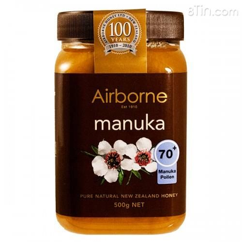 MẬT ONG NEW ZEALAND  AIRBOMI MANUKA 70+500G.