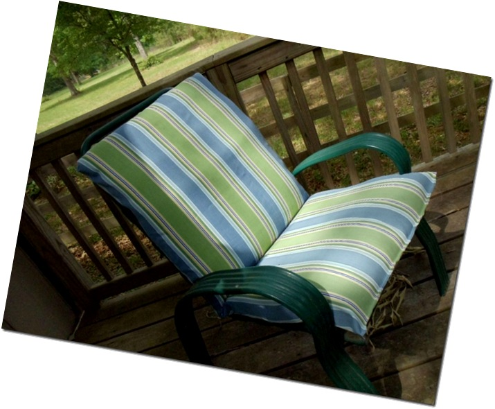 Comin Home How To Re Cover Patio Furniture