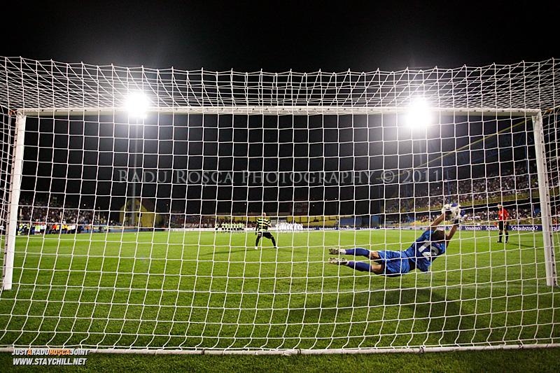 Meciul de fotbal dintre Gaz Metan Medias si FSV Mainz 05 din cadrul turului 3 preliminar al playoff-ului Europa League, disputat joi, 5 august 2011 la Medias