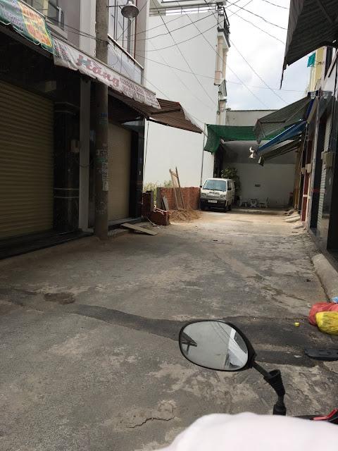 Bán nhà khu chợ vải Phú Thọ Hòa Quận Tân Phú 002