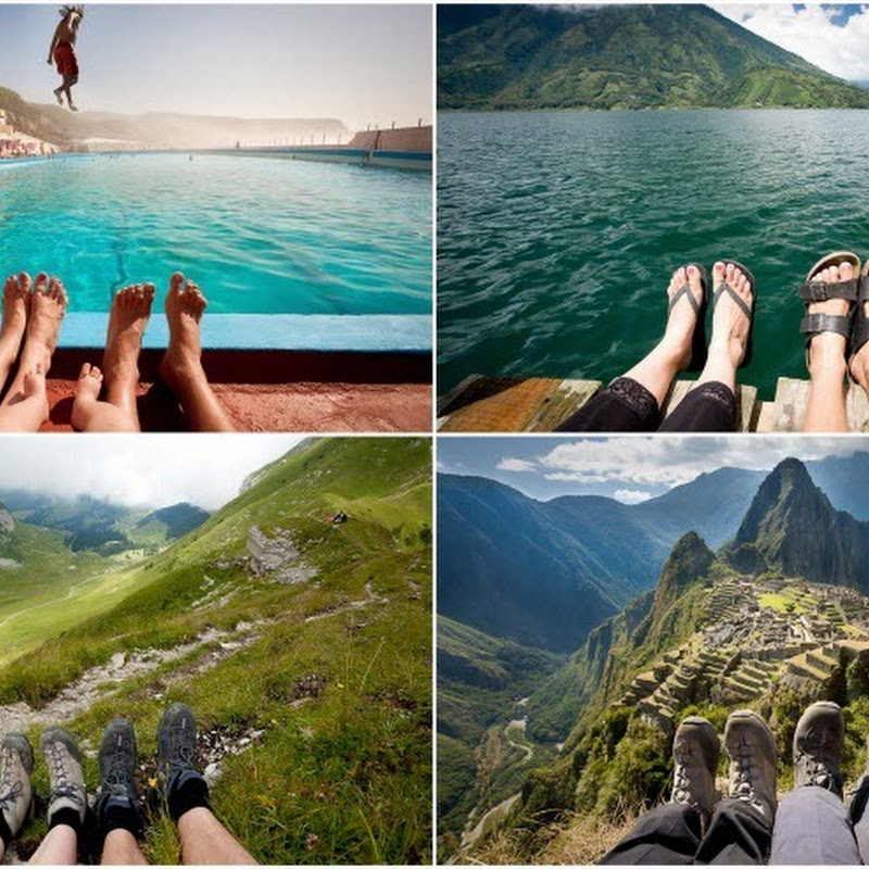 Feet First: Creative Travel Photos by British Couple
