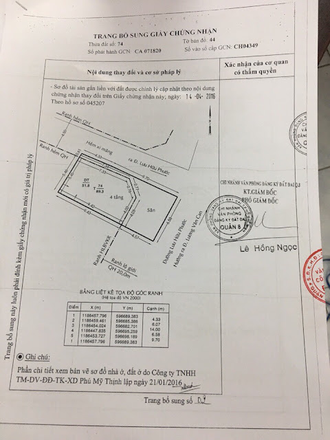 Bán nhà mặt tiền số 238 Lưu Hữu Phước, Phường 15, Quận 8, Tp Hồ Chí Minh 05