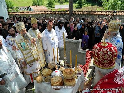 Манастир Ћелије – дан светог Јустина Ћелијског