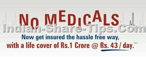 Rs 1 Crore insurance cover at Rs 43 per day