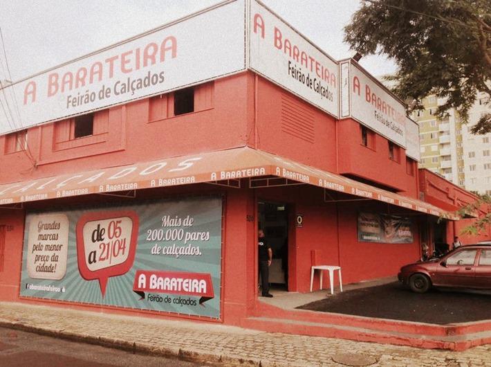 113de4d5d A Barateira feirão de calçados em Curitiba. Onde e quando acontece o ...