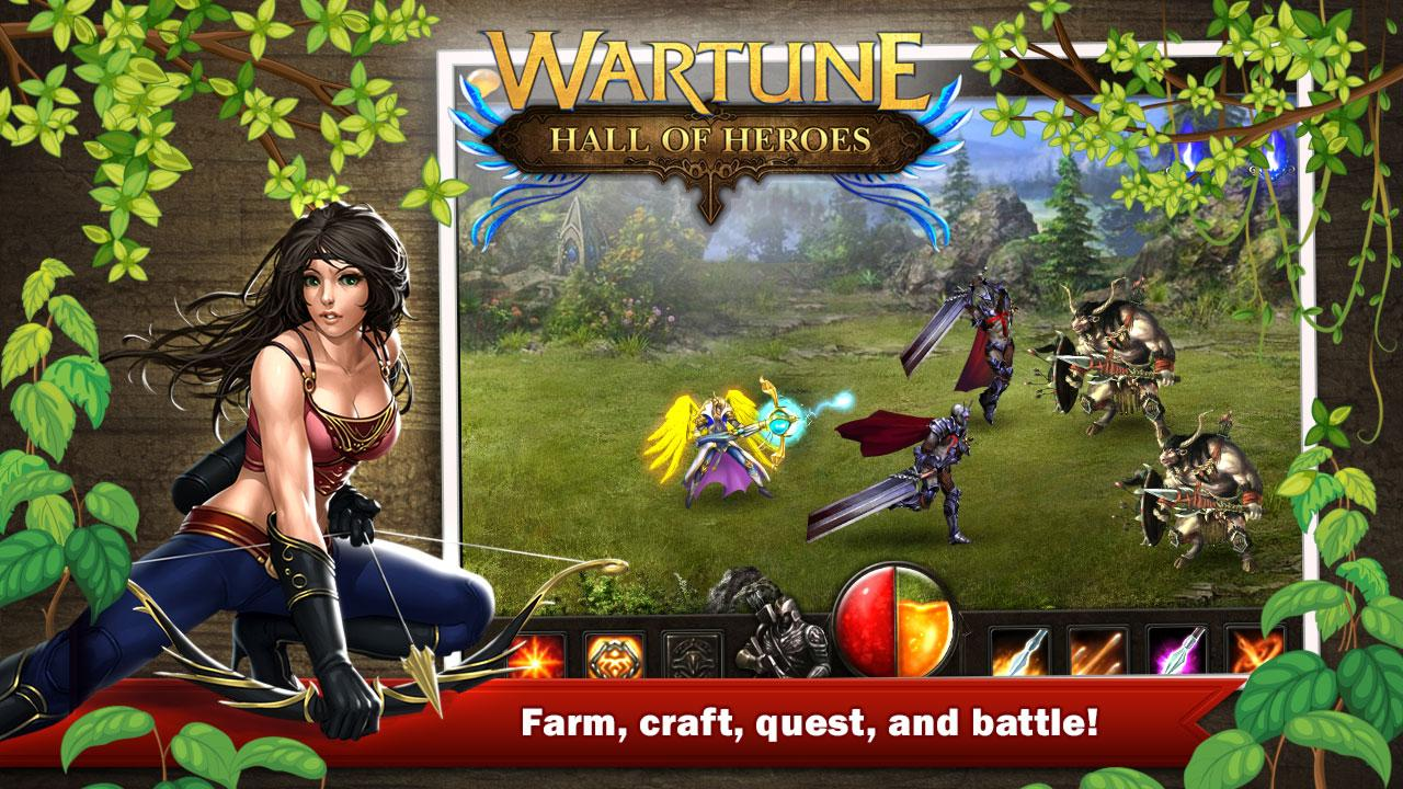 Wartune: Hall of Heroes - screenshot