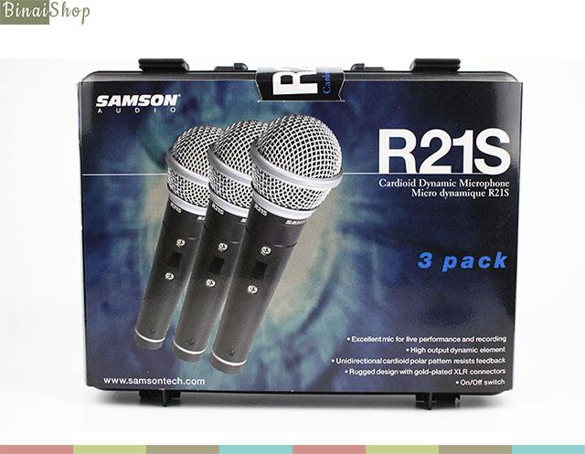 Bộ 3 micro karaoke