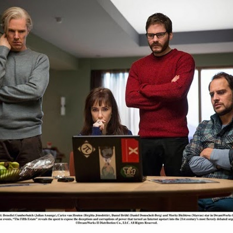 """The Fifth Estate"" -- Timely Thriller Based on Real Events"