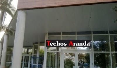 Techos aluminio Carmona