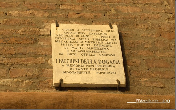 Madonna dei Facchini, Ferrara, Italy, Photo2