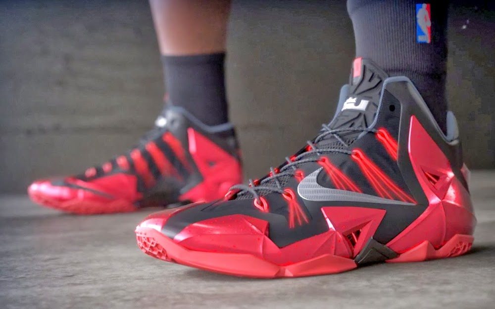 promo code e7236 586a3 ... James Gears Up with LeBron 11 Away in Nike Basketball Video