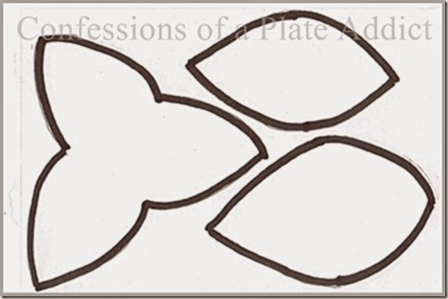 Leaf and Flower Template