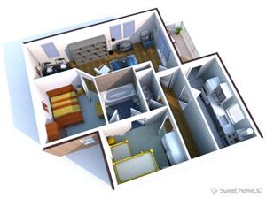 Disegnare casa in 3d