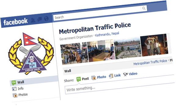 Metropolitan Traffic Police on Facebook
