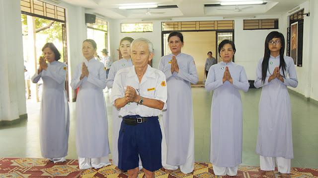 DSC06283 Lễ Hiệp kỵ   Lễ Huý Nhật Cư sĩ Sáng lập viên GĐPT Việt Nam   Tâm Minh Lê Đình Thám