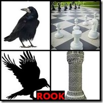 ROOK- 4 Pics 1 Word Answers 3 Letters