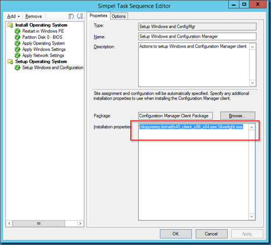 MINDCORE BLOG: Prerequisites installation and SCCM Client