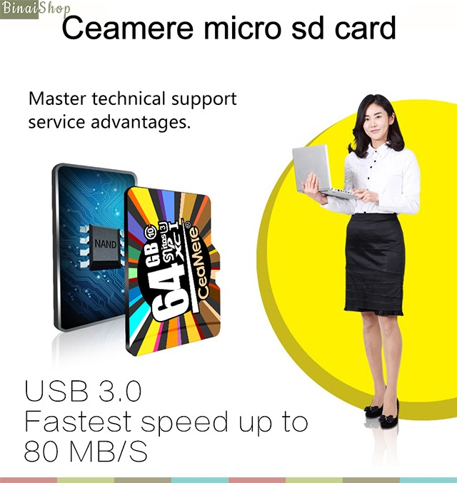 Ceamere Micro SD card