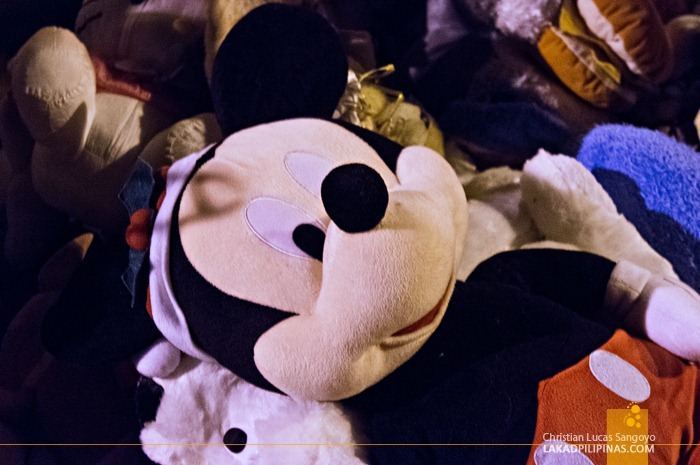 Huge Mickey Mouse Stuffed Toy at Baguio's Weekend Night Market