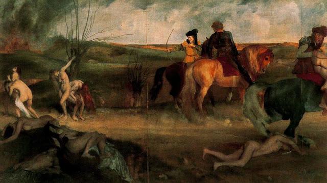 Edgard Degas - Escena de Guerra en la Edad Media.jpg