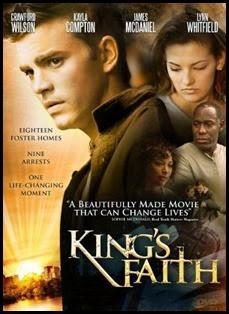 King's Faith DVD Art