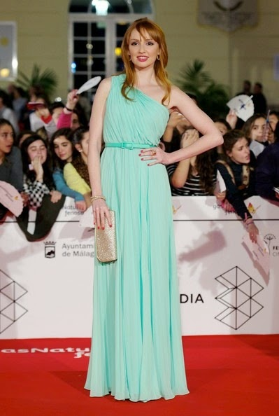 Cristina Castano attends the 17th Malaga Film Festival 2014