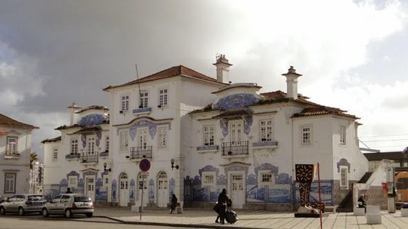 Antiga estação de Aveiro