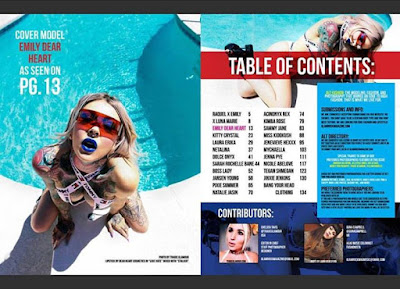 OUT NOW View for FREE at glamrockmagazinecom ❤️❤️ buy in print at