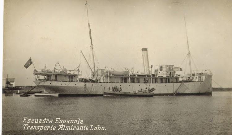 Transporte ALMIRANTE LOBO en lugar y fecha desconocidos. Colección Juan Padrón Albornoz. Universidad de la Laguna.jpg