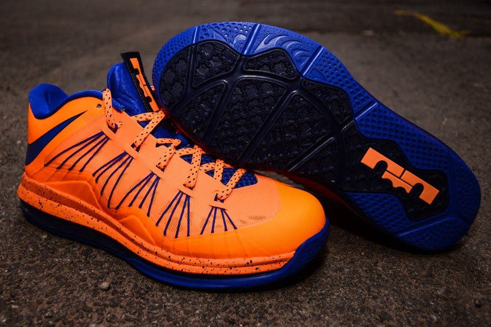 size 40 3c128 bbe60 ... Nike Air Max LeBron X Low 8220Knicks8221 Arriving at Retailers ...