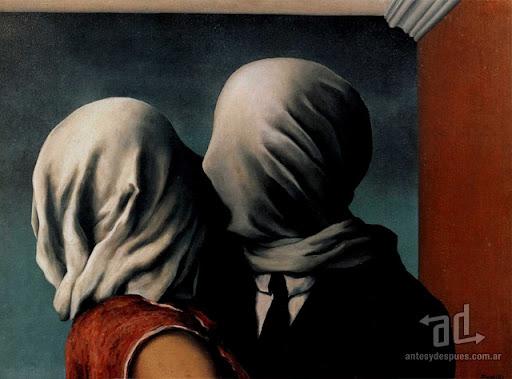 Los besos mas famosos -  Magritte Les Amants