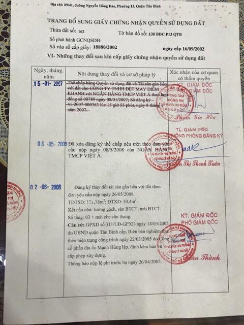 Bán nhà Mặt Tiền Kinh Doanh Nguyễn Hồng Đào Quận Tân Bình 07