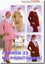 Model Pakaian Dinas Wanita Hamil 17