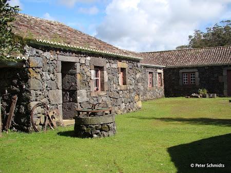 Obiective turistice Azore: Gospodarie rurala