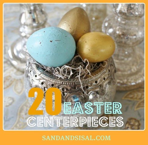 20 Easter Centerpieces