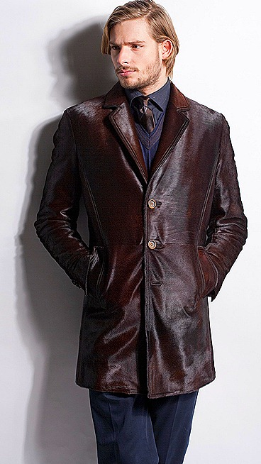 Fendi fall Winter 2011 2012 Collection Blue Brown