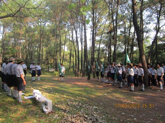 TraiDungThuaThioem2013 32 BHD GĐPT Thừa Thiên tổ chức Trại Dũng năm 2013